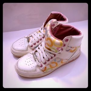 Coach Norra Multi-Color High Top Shoes